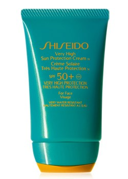Very high sun protection cream SPF50+ Shiseido 50ml